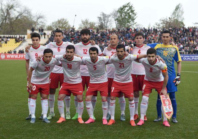 Футболисты сборной Таджикистана. Архивное фото