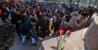 Бүгүн, 16-ноябрда, Бишкекте панфиловчу аскерлердин жаркын элесине арналган митинг-реквием өттү