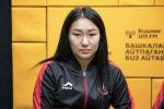 Азербайжандын Баку шаарында өткөн грэпплинг боюнча жаштар арасындагы дүйнө чемпионатынын күмүш медалынын ээси Айдай Орозбекова