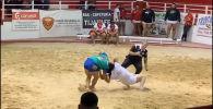 В минувшие выходные на турнире по канарской борьбе в Испании произошло то, чего никто не ожидал: рефери был отправлен в глубокий нокаут.