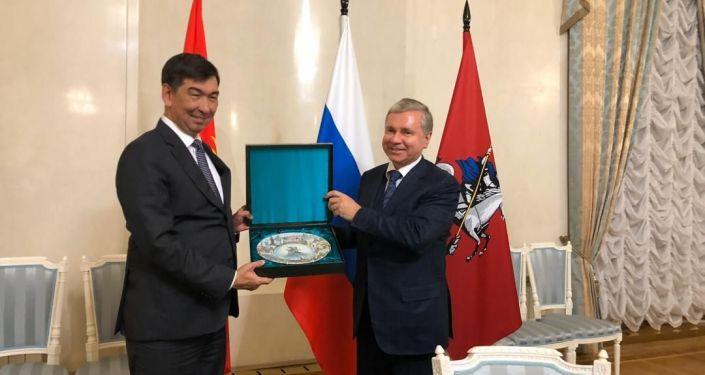 Мэр Бишкека Азиз Суракматов посетил Москву по приглашению правительства российской столицы