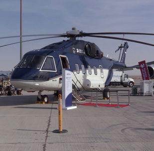 Дубайдагы авиасалондо көп багыттуу россиялык Ми-38 тик учагын көрсөтүштү. Техниканын жаңыланган бул түрү мураскер ханзаада Абу-Даби Мухаммед бен Заид аль-Нахайянды кызыктырды.