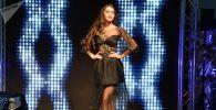Победительница конкурса Мисс Беларусь — 2018 Мария Василевич во время конкурса