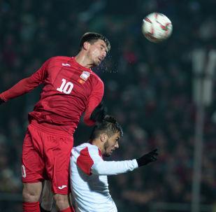 Сборная Кыргызстана, несмотря на ничью, по-прежнему занимает вторую строчку в группе F
