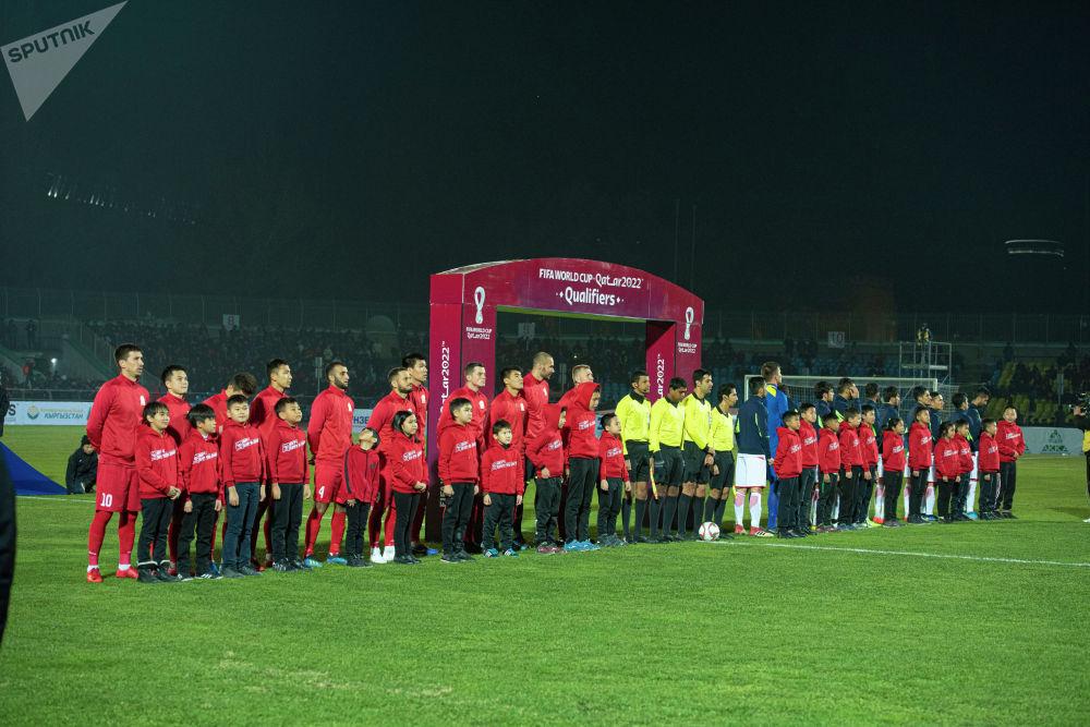 19 ноября в Бишкеке в рамках отбора на ЧМ-2022 играли команды Кыргызстана и Таджикистана