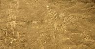 Геоглифы в пустыне Наска в Южном Перу. Архивное фото