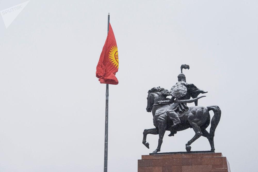 Бишкек шаары, Ала-Тоо аянты, 2019-жыл, 21-ноябрь