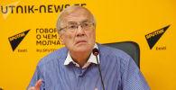 Эстонский политолог Эдуард Тинн во время беседы на радио Sputnik