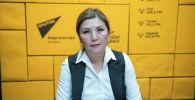 Терапевт объединенного центра семейной медицины Первомайского района Бишкека Аиза Солтогулова