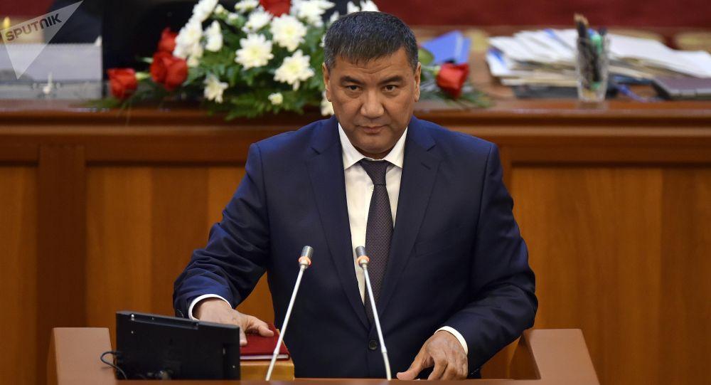 ЖК депутаты Искендер Матраимовдун архивдик сүрөтү
