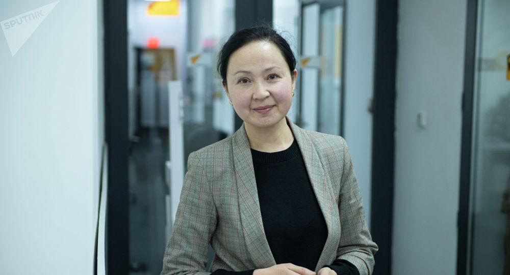 Председатель правления Государственной ипотечной компании Эльмира Абжапарова
