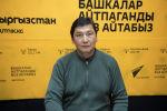 Продюсер одного из отечественных телеканалов Омурбек Сатаев