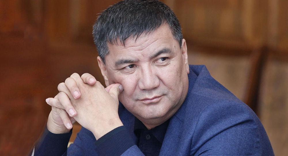 Депутат Жогорку Кенеша Искендер Матраимов