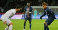 Франциянын Пари Сен-Жермен (ПСЖ) футбол клубунун чабуулчусу Неймар. Архивдик сүрөт