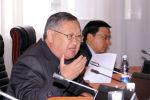 Жогорку Кеңештин экс-депутаты Каныбек Осмоналиев. Архивдик сүрөт