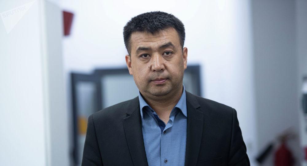 Бишкек шаардык сотунун төрагасынын орун басары Болотбек Сатыбалдиев