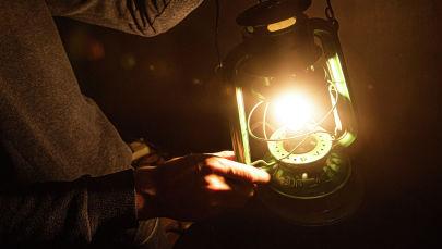 Горящая лампа. Иллюстративное фото