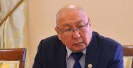 Улуттук стратегиялык изилдөөлөр институтунун директору болуп дайындалган Эмилбек Каптагаев. Архив