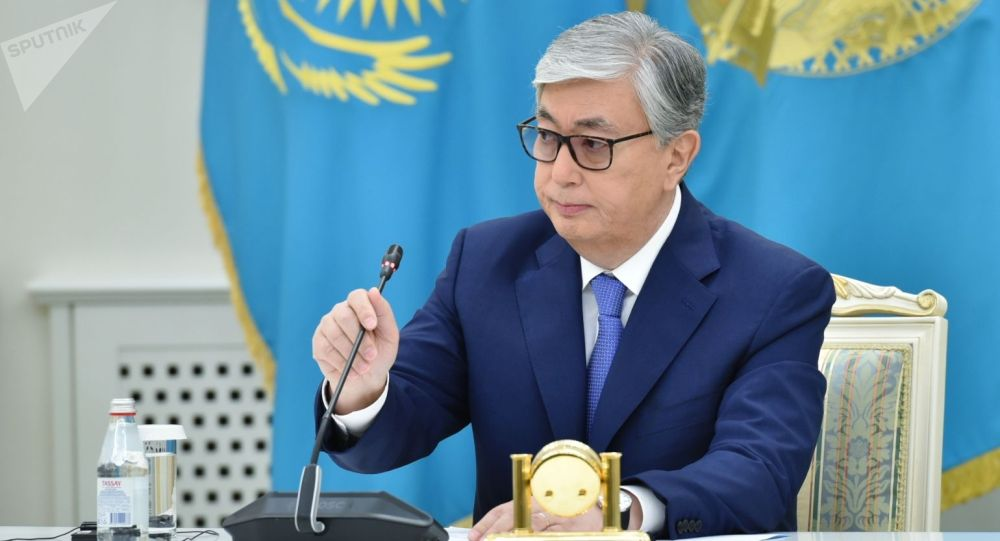 Президент Казахстана Касым-Жоомарт Токаев. Архивное фото