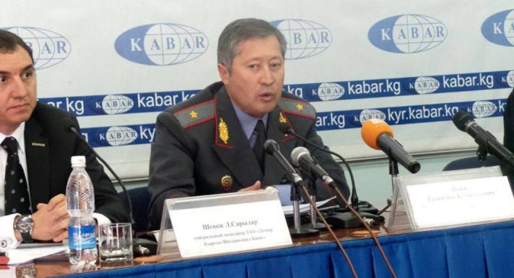 Генерал-майор милиции Талантбек Исаев. Архивное фото