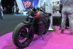 Концерн Калашников представил городской электромотоцикл Иж для скоростных поездок на небольшие расстояния.