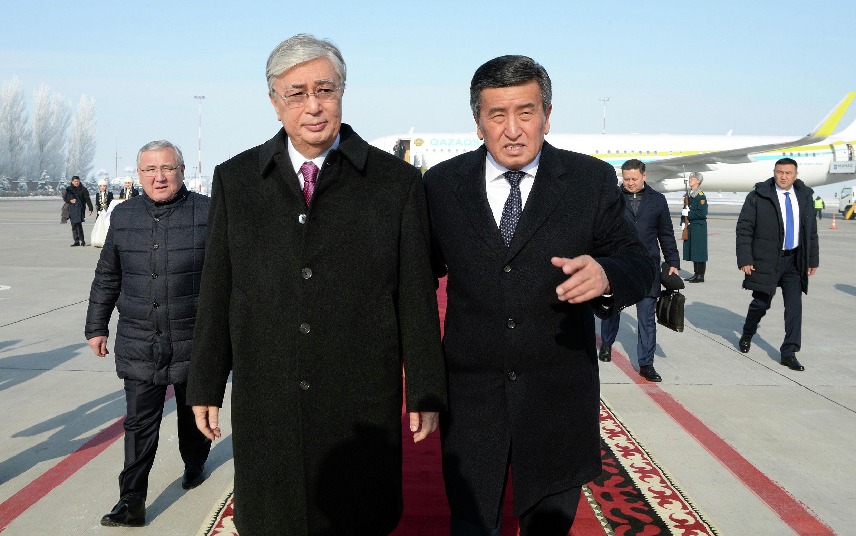 В Кыргызстан с государственным визитом прибыл президент Казахстана Касым-Жомарт Токаев