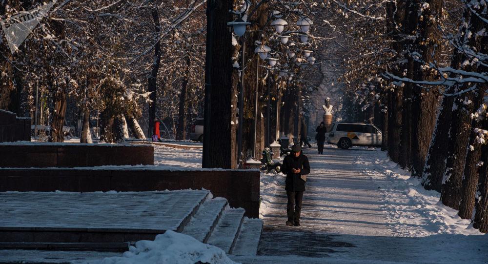 Люди идут по бульвару Эркиндик. Архивное фото