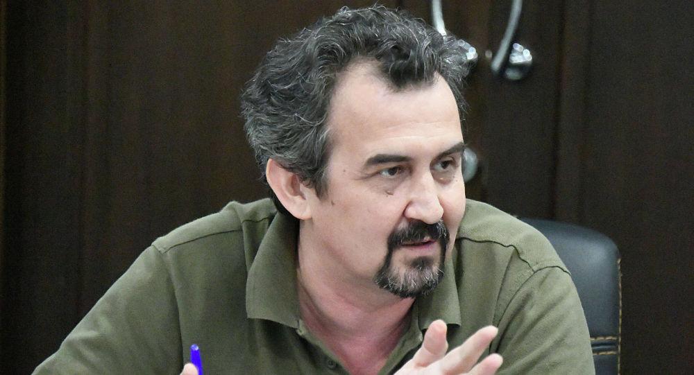 Казахстанский политолог Рустам Бурнашев