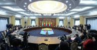 Пятое заседание Высшего Межгосударственного Совета Кыргызской Республики и Республики Казахстан, состоявшегося в рамках государственного визита Президента Казахстана Касым-Жомарта Токаева в Кыргызстан.