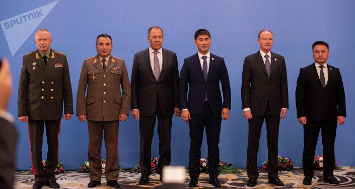 Заседание Совета министров иностранных дел, Совета министров обороны и Комитета секретарей советов безопасности Организации Договора о коллективной безопасности (ОДКБ) в Бишкеке