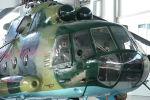 Россия подарила Кыргызстану два вертолета МИ-8МТ и радиолокационные станции П-18. Торжественная церемония приема-передачи состоялась на территории авиационно-технической эксплуатационной части Сил воздушной обороны Вооруженных сил КР в Канте.