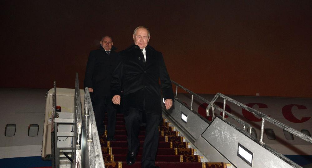 Россия президенти Владимир Путиндин Кыргызстанга келиши