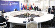 Заседании Совета коллективной безопасности ОДКБ в узком составе.
