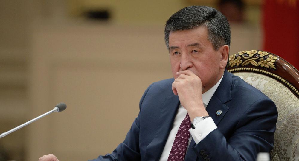 Архивное фото экс-президента Кыргызской Республики Сооронбая Жээнбекова
