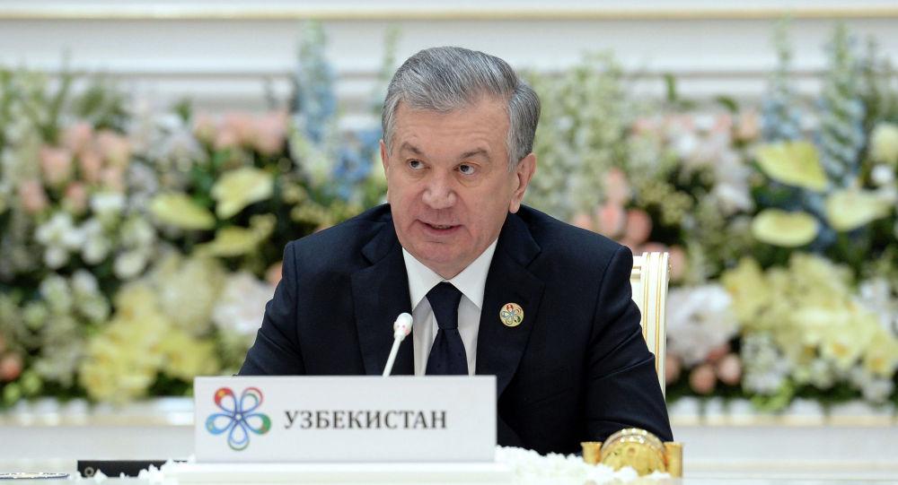 Өзбекстандын президенти Шавкат Мирзиёев