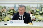 Президент Узбекистана Шавкат Мирзиеев на Второй Консультативной встрече глав государств Центральной Азии в Ташкенте
