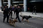 Лондон полиция кызматкерлери окуядан кийин