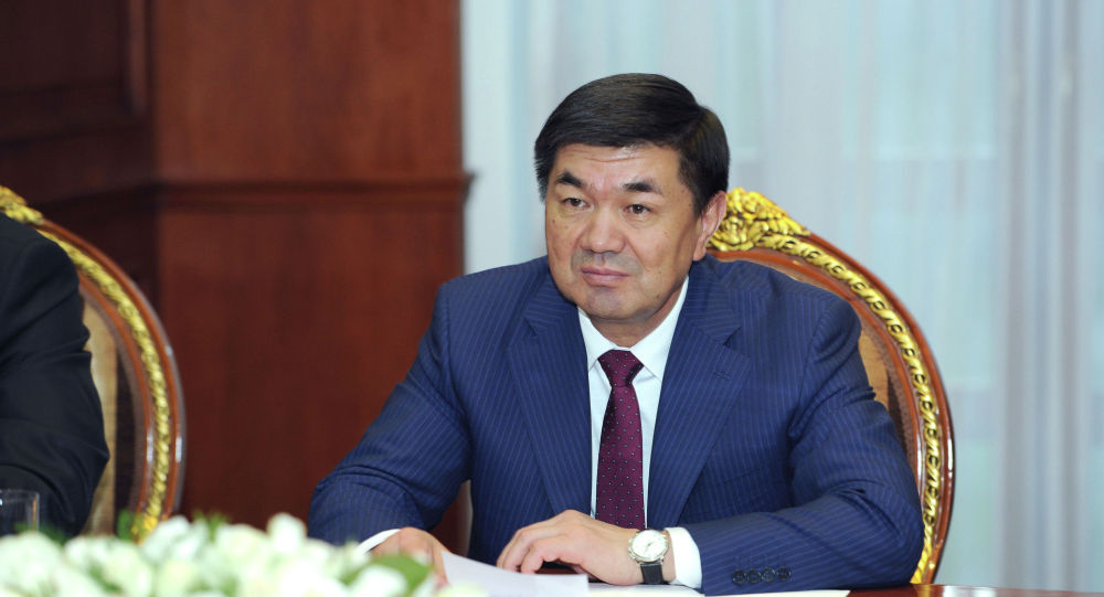Архивное фото премьер-министра Кыргызской Республики Мухаммедкалыя Абылгазиева