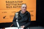 Бизнесмен из Бишкека Сергей Ершов во время беседы на радио Sputnik