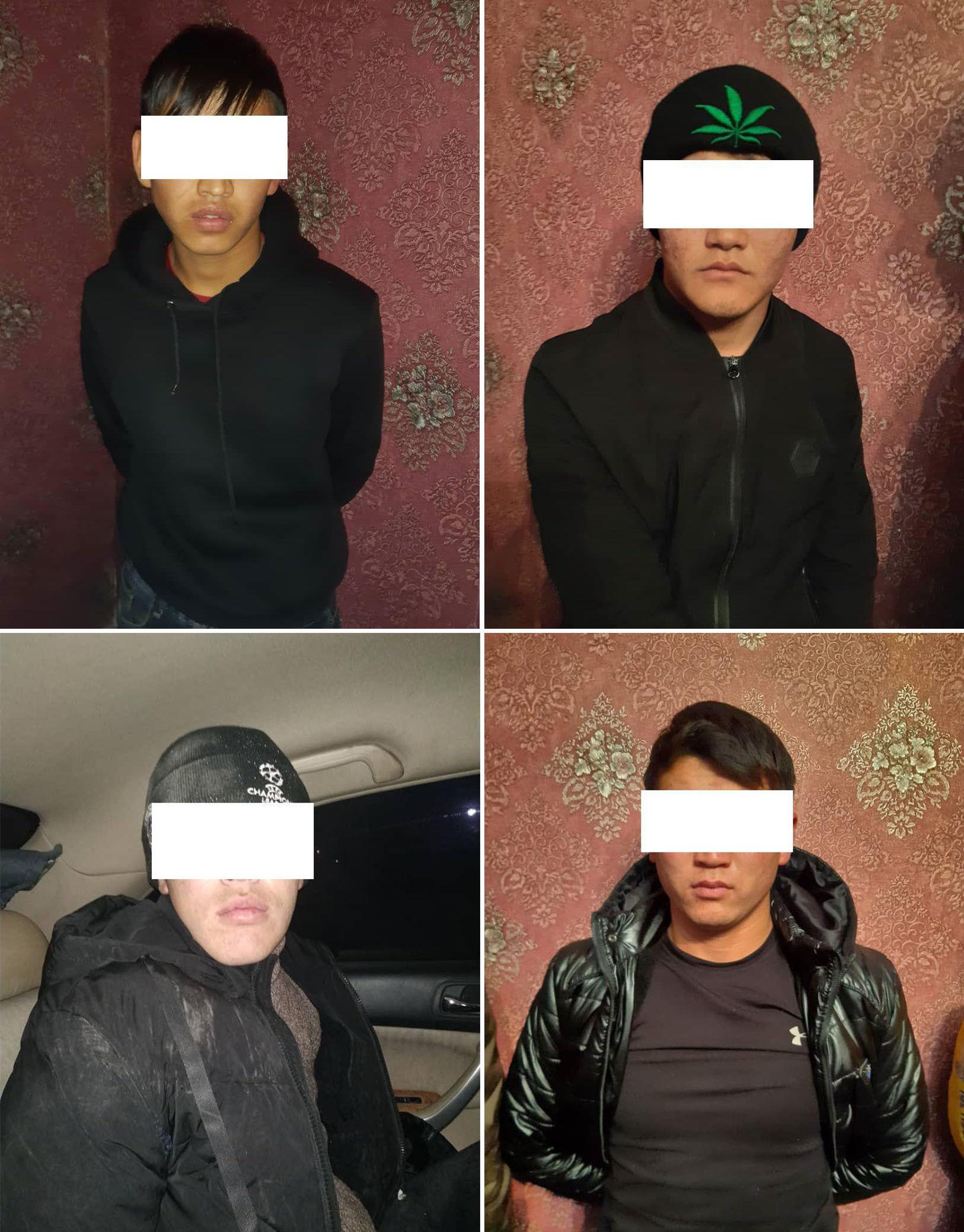 Подозреваемые в убийстве 19-летнего юноши в селе Нижняя Ала-Арча