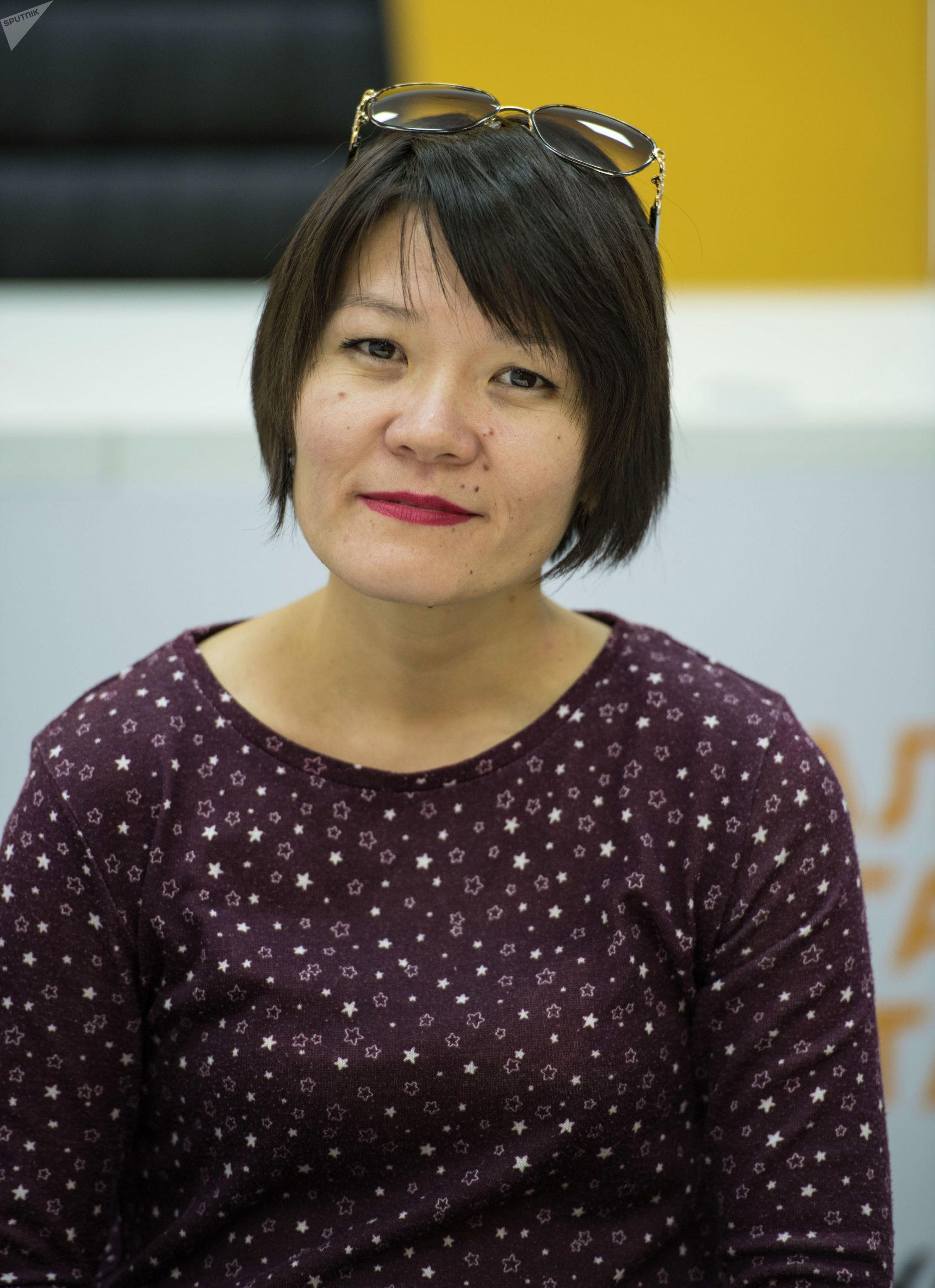 Предприниматель из Кыргызстана занимающаяся паратхэквондо паратхэквондо