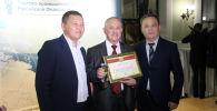 Победитель Олимпийских игр 1980 Каныбек Осмоналиев стал лауреатом Общероссийской общественной программы Национальное величие в Москве.