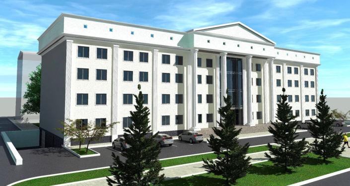 Мэрия Бишкека распространила эскизы пристройки, которую планируется возвести к зданию муниципалитета.