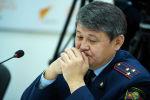 Заместитель начальника Главного управления обеспечения безопасности дорожного движения Ыманалы Саркулов