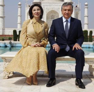 Өзбекстандын канайымы Зироатхон Мирзиёева. Архивдик сүрөт