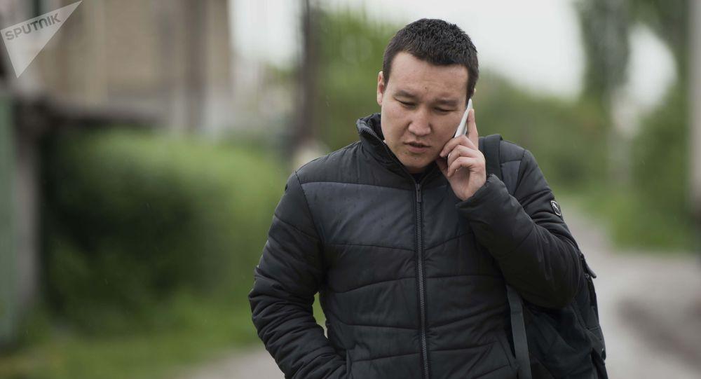 Шеф-редактор ИА Sputnik Кыргызстан Эркин Алымбеков. Архивное фото