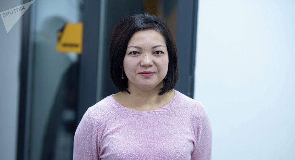 Кыргызгидрометтин атмосфераны байкоо бөлүмүнүн башчысы Мээрим Асанбай кызы