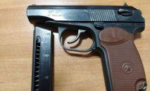 Милиция задержала подозреваемого в совершении хулиганства с применением пистолета