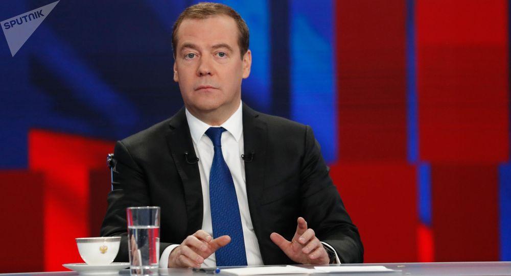 Дмитрий Медведев. Архивдик сүрөт