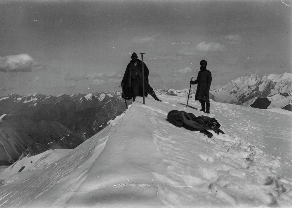 Немец саякатчысы Готфрид Мерцбахер Кыргызстанга 1902-жылы келген